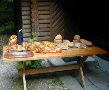Brunchbuffet am Maibummel 2004