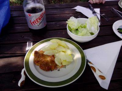 Das Mittagsmenü