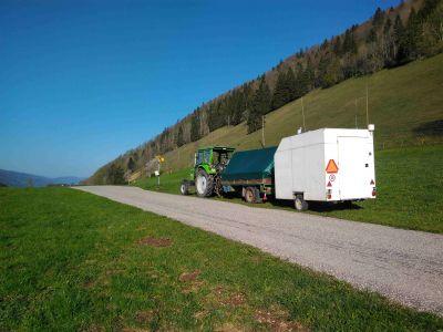 'Feldwegzug' beim Binzberg