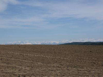 Berge von oberhalb Eglisau zu sehen