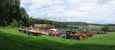 Traktore-Fäscht in Bachs 2017