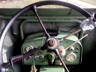 CB-Funk auf dem Bührer Traktor