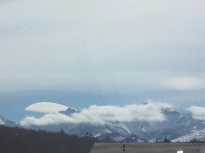 Eigenartige Wolke