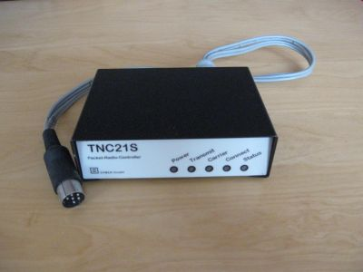 TNC21S 1200 Baud AFSK Packet-Radio-TNC von Symek