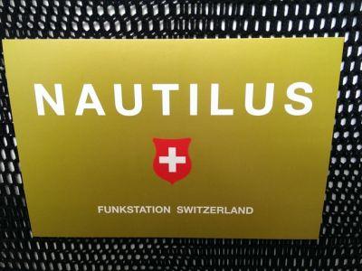 Nautilus  (sein eigenes QSL-Kärtchen von Nautilus 75 'Hans' zur Veröffentlichung erhalten)